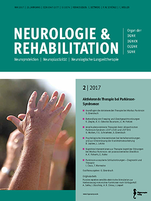 neurologie und rehabilitation 2 2017